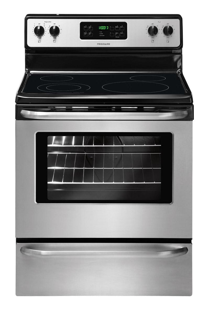 "Frigidaire Electric Range 30"" Freestanding Electric Range - Item Number: FFEF3048LS"