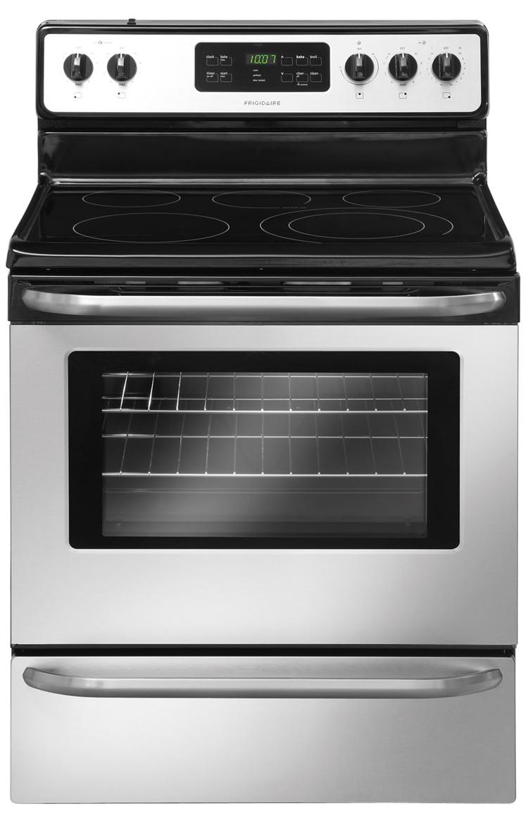 "Frigidaire Electric Range 30"" Freestanding Electric Range - Item Number: FFEF3050LS"