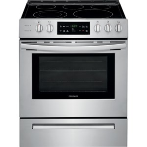 "Frigidaire Electric Range 30"" Front Control Freestanding Electric Rang"