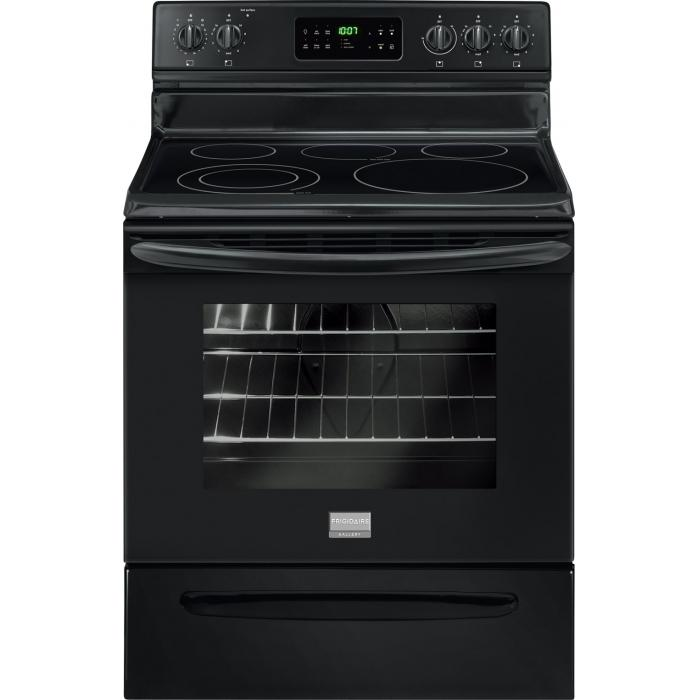 Frigidaire Frigidaire Gallery Electric Ranges Gallery 30'' Freestanding Electric Range - Item Number: FGEF3030PB
