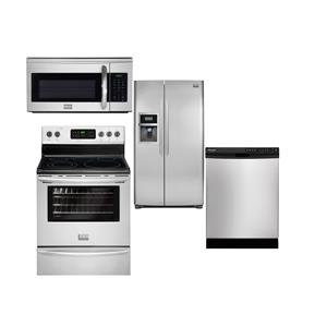 Frigidaire Frigidaire Gallery Electric Ranges 4 Piece Frigidaire Gallery Appliance Package
