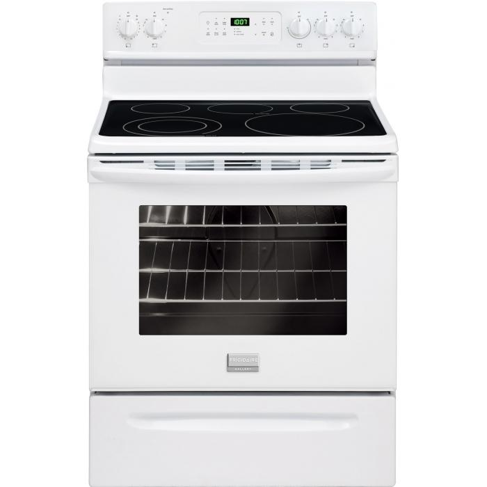 Frigidaire Frigidaire Gallery Electric Ranges Gallery 30'' Freestanding Electric Range - Item Number: FGEF3030PW