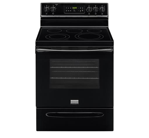 "Frigidaire Frigidaire Gallery Electric Ranges Gallery 30"" Freestanding Electric Range - Item Number: FGEF3035RB"