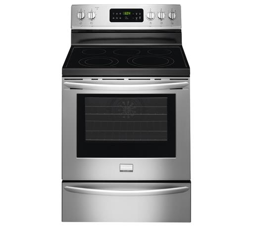 "Frigidaire Frigidaire Gallery Electric Ranges Gallery 30"" Freestanding Electric Range - Item Number: FGEF3035RF"