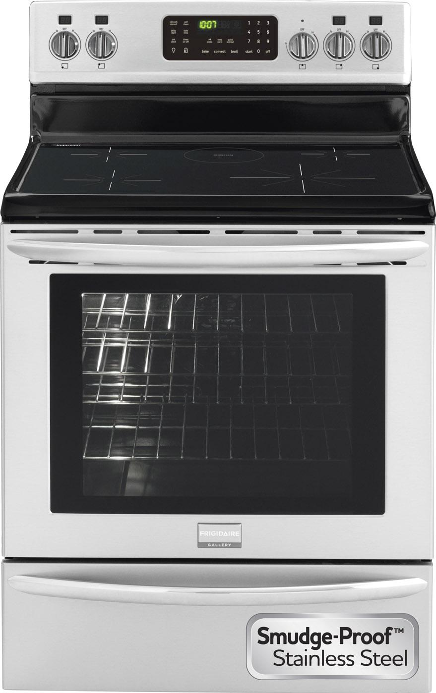 "Frigidaire Frigidaire Gallery Electric Ranges 30"" Freestanding Induction Range - Item Number: FGIF3061NF"