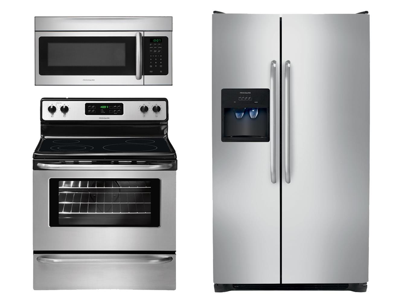 Frigidaire Electric Range 3 Piece Frigidaire Gallery - Item Number: FFEF3048LSPackage
