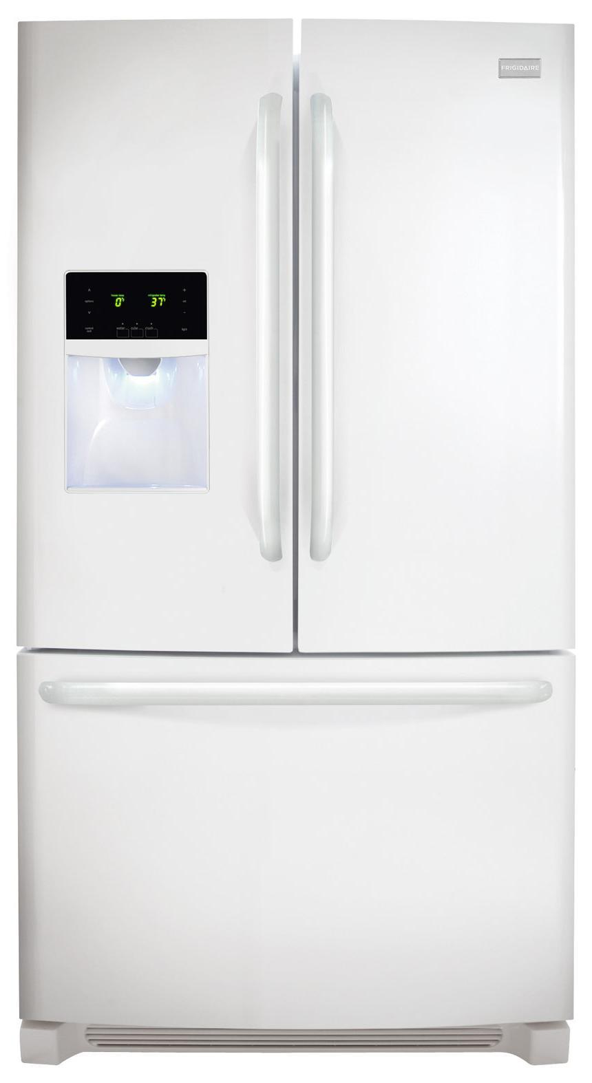 Frigidaire French Door Refrigerators 26.7 Cu. Ft. French Door Refrigerator - Item Number: FFHB2740PP
