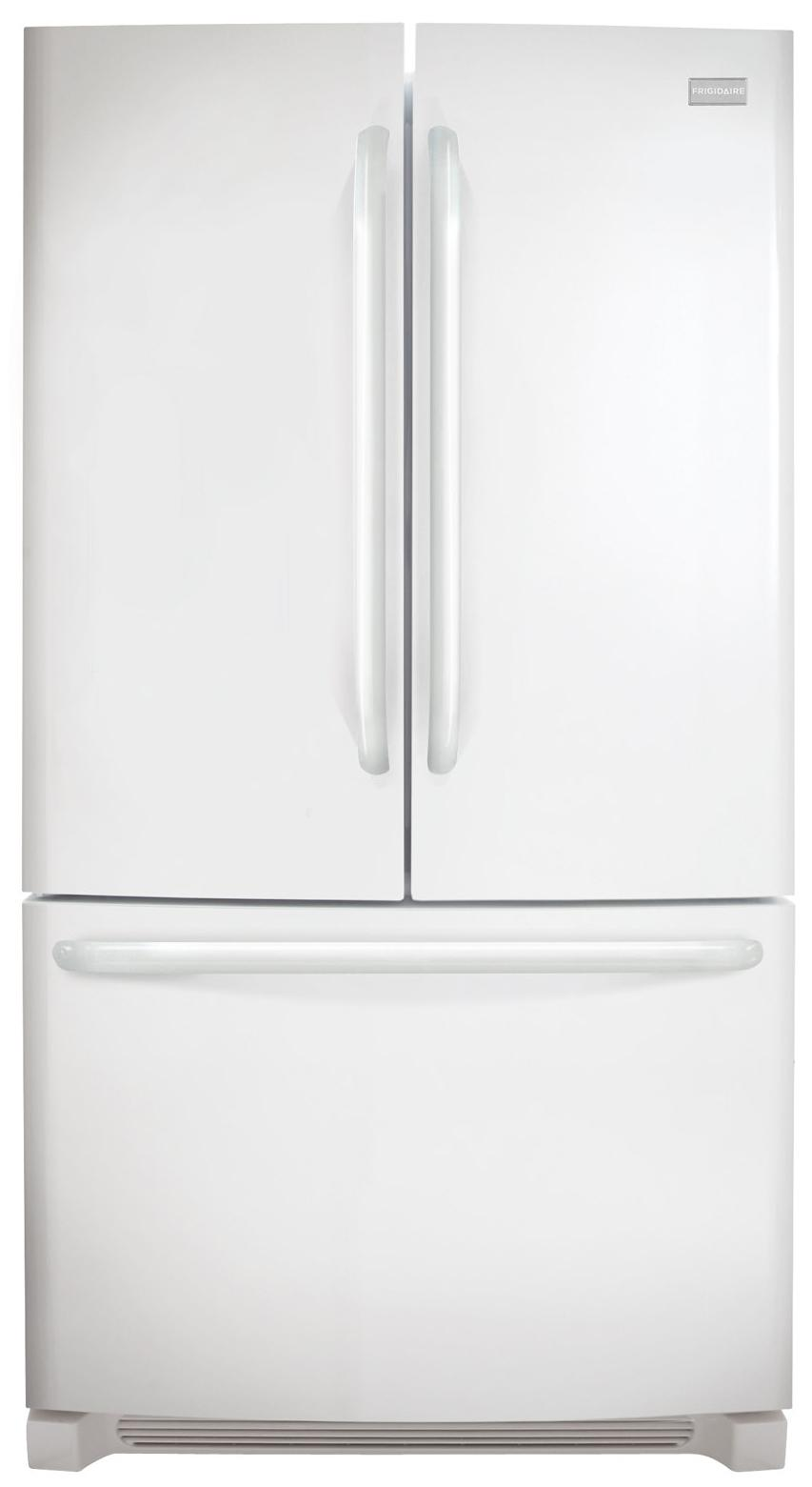 Frigidaire French Door Refrigerators 27.8 Cu. Ft. French Door Refrigerator - Item Number: FFHN2740PP