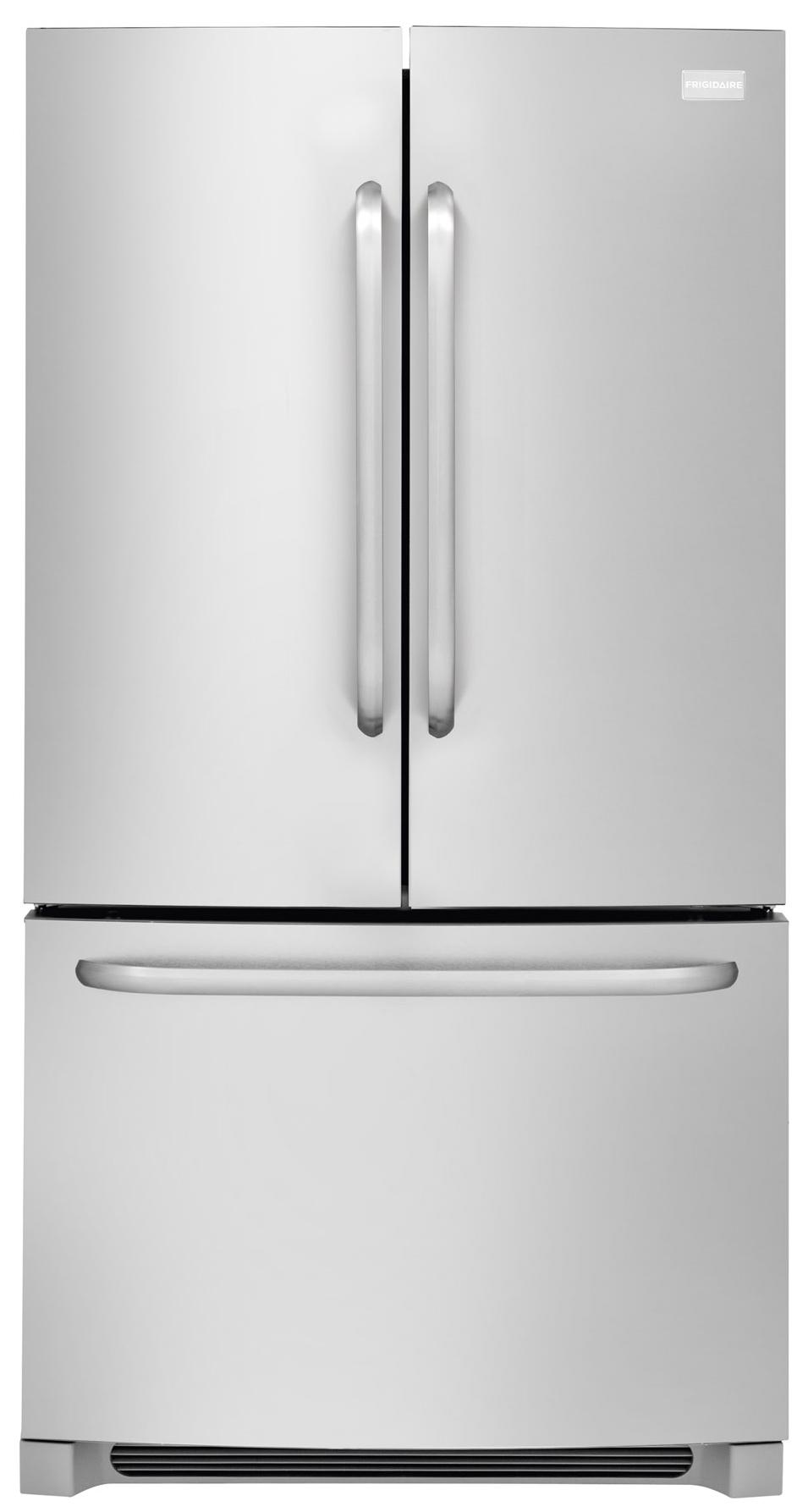 Frigidaire French Door Refrigerators 27.8 Cu. Ft. French Door Refrigerator - Item Number: FFHN2740PS