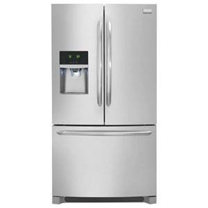 Frigidaire French Door Refrigerators 21.9 Cu.Ft. Counter-Depth French Door Fridge