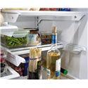 Frigidaire Frigidaire Gallery Refrigerators Gallery ENERGY STAR® Gallery 22.6 Cu. Ft. French Door Counter-Depth Refrigerator with Quiet Design - SpaceWise® Slide Under Shelf