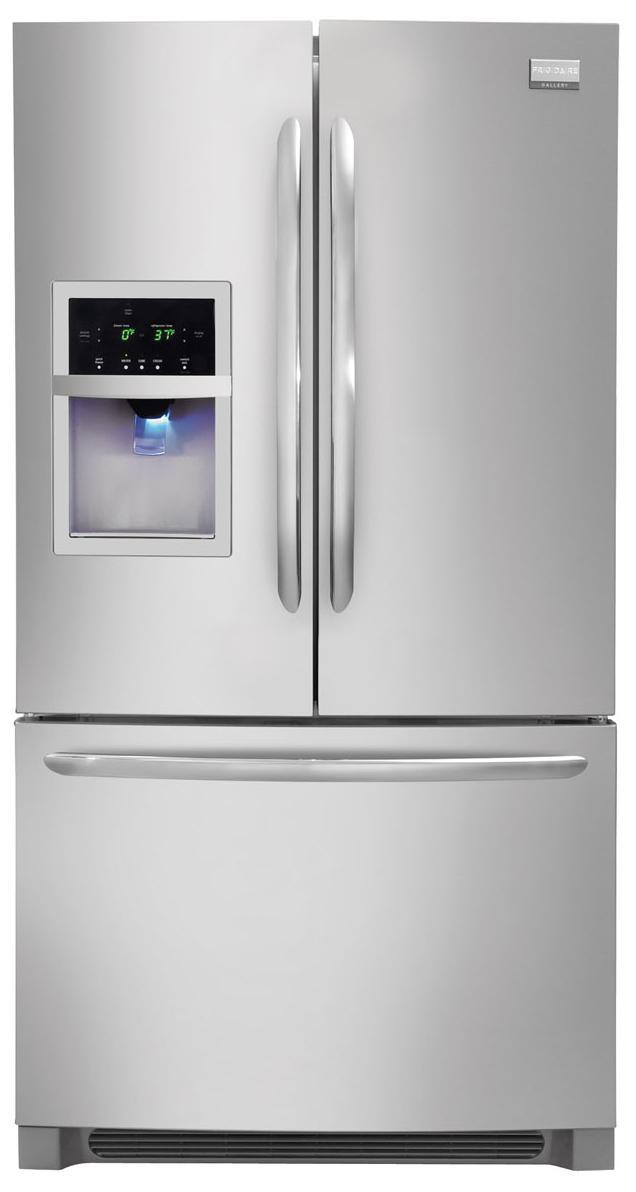 Frigidaire Frigidaire Gallery Refrigerators 25.8 Cu. Ft. French Door Refrigerator - Item Number: FGUB2642LF