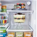 Frigidaire Frigidaire Gallery Refrigerators Gallery ENERGY STAR® 25.8 Cu. Ft. French Door Refrigerator with Water and Ice Dispenser - SpillSafe Glass Shelves
