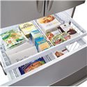 Frigidaire Frigidaire Gallery Refrigerators Gallery ENERGY STAR® 25.8 Cu. Ft. French Door Refrigerator with Water and Ice Dispenser - Effortless Glide Freezer Drawers