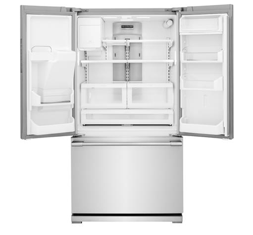 Frigidaire Professional - French Door Refrigerators 27.8 Cu. Ft. French Door Refrigerator - Item Number: FPBS2777RF