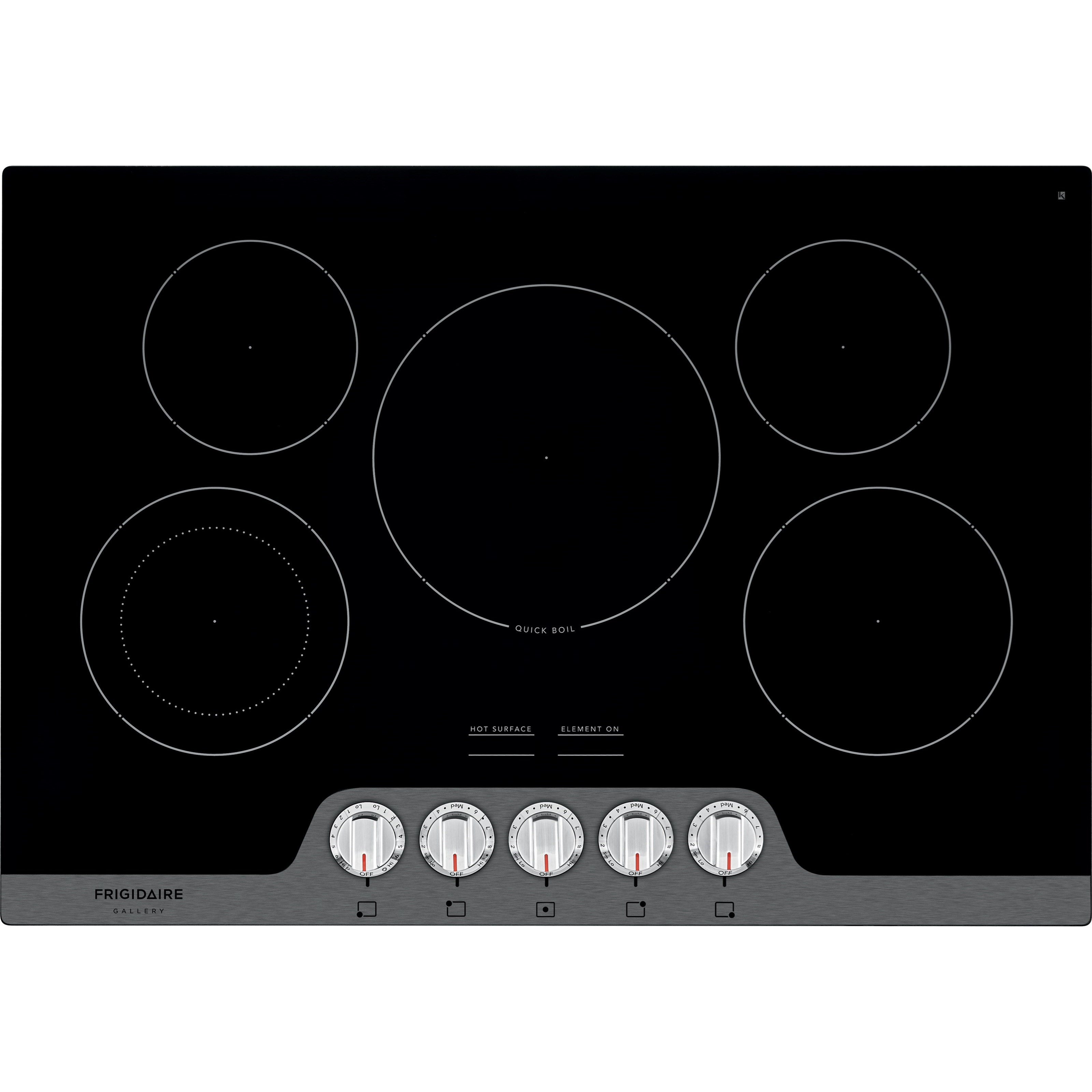 Electric Cooktop With Ceramic Gl
