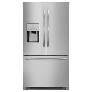 Frigidaire Gallery French Door Refrigerators 21.7 CuFt. Counter-Depth French Door Fridge