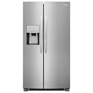 Frigidaire Gallery Side-by-Side Refrigerators 22.2 CuFt. Counter-Depth Side-by-Side Fridge
