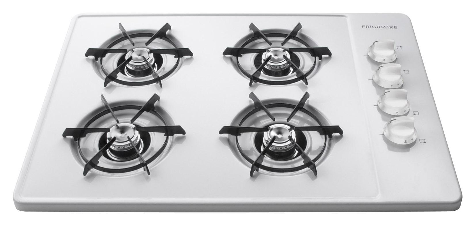"Frigidaire Gas Cooktop 30"" Built-In Gas Cooktop - Item Number: FFGC3005LW"