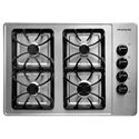 "Frigidaire Gas Cooktop 30"" Built-In Gas Cooktop - Item Number: FFGC3015LS"