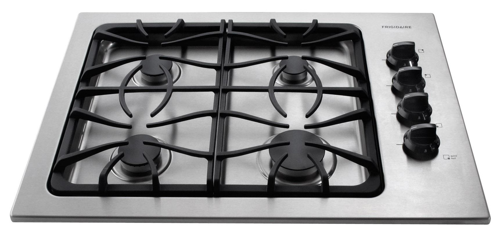 "Frigidaire Gas Cooktop 30"" Built-In Gas Cooktop - Item Number: FFGC3025LS"
