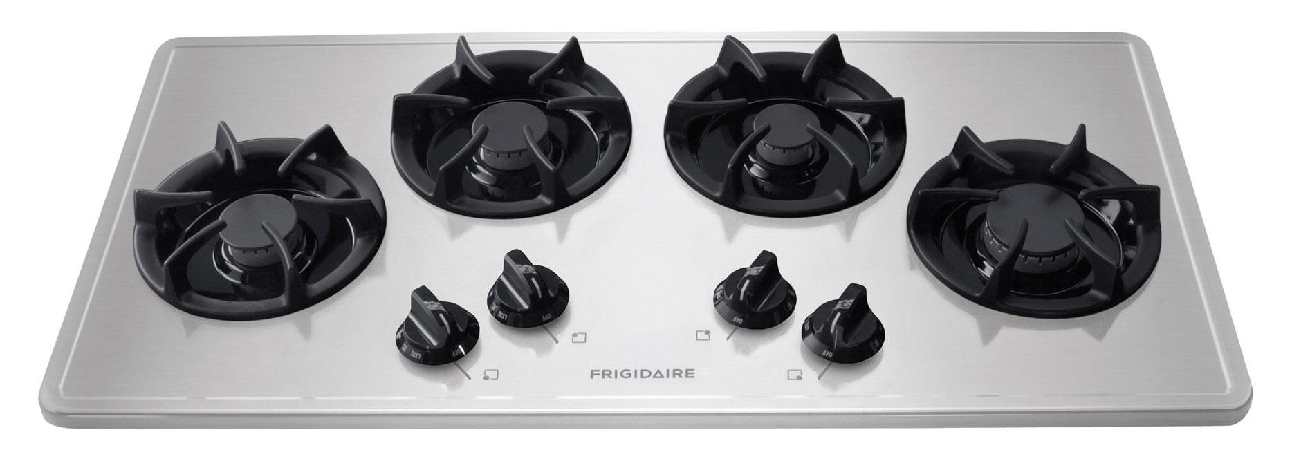 "Frigidaire Gas Cooktop 36"" Built-In Gas Cooktop - Item Number: FFGC3613LS"