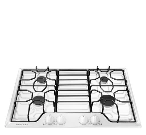 "Frigidaire Gas Cooktops 30"" Gas Cooktop - Item Number: FFGC3010QW"