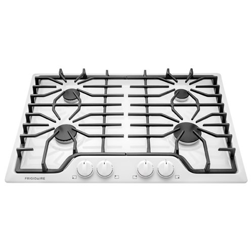 "Frigidaire Gas Cooktops 30"" Gas Cooktop - Item Number: FFGC3026SW"