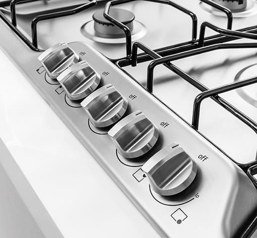 "Frigidaire Gas Cooktops 36"" Gas Cooktop - Item Number: FFGC3610QS"