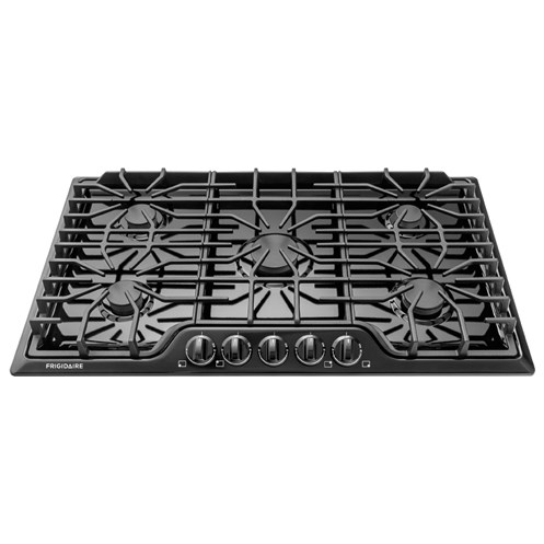 "Frigidaire Gas Cooktops 36"" Gas Cooktop - Item Number: FFGC3626SB"