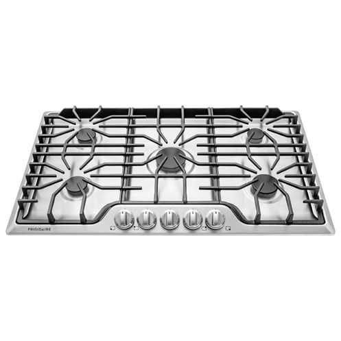"Frigidaire Gas Cooktops 36"" Gas Cooktop - Item Number: FFGC3626SS"