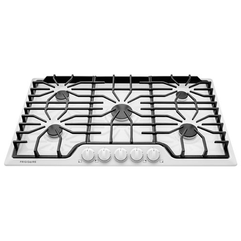 "Frigidaire Gas Cooktops 36"" Gas Cooktop - Item Number: FFGC3626SW"