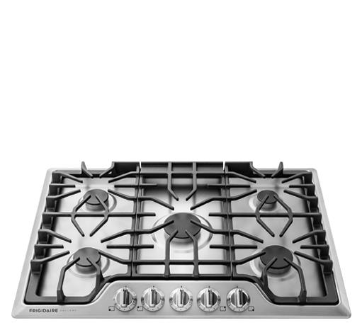"Frigidaire Frigidaire Gallery Gas Cooktops Gallery 30"" Gas Cooktop - Item Number: FGGC3047QS"