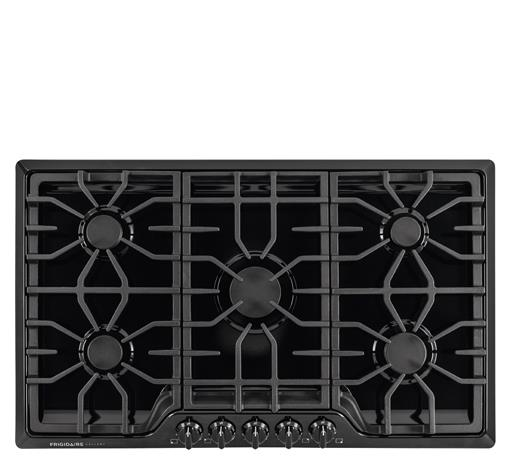 "Frigidaire Frigidaire Gallery Gas Cooktops Gallery 36"" Gas Cooktop - Item Number: FGGC3645QB"