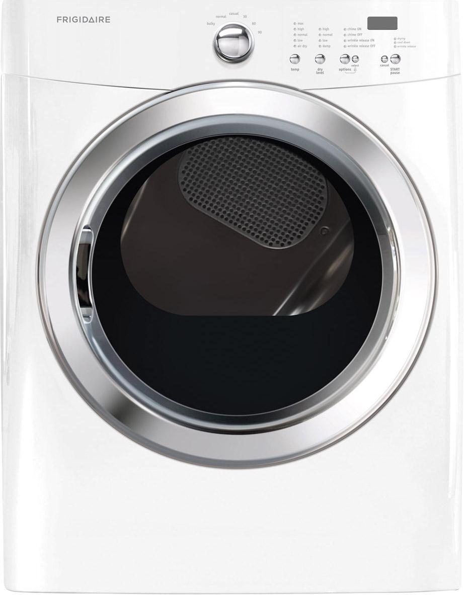 Frigidaire Gas Dryers 7.0 Cu. Ft. Gas Dryer - Item Number: FFQG5100PW