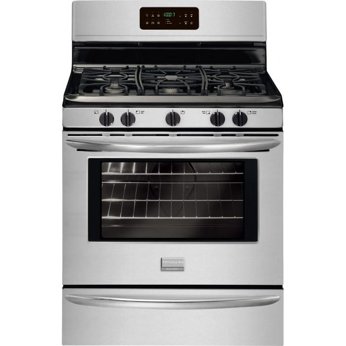 Frigidaire Frigidaire Gallery Gas Ranges Gallery 30'' Freestanding Gas Range - Item Number: FGGF3030PF