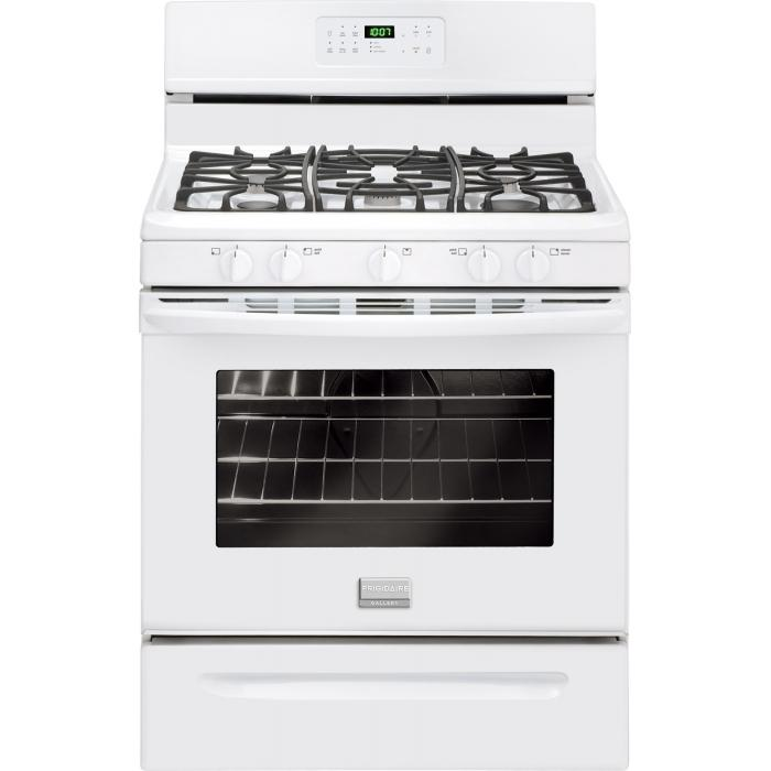 Frigidaire Frigidaire Gallery Gas Ranges Gallery 30'' Freestanding Gas Range - Item Number: FGGF3030PW