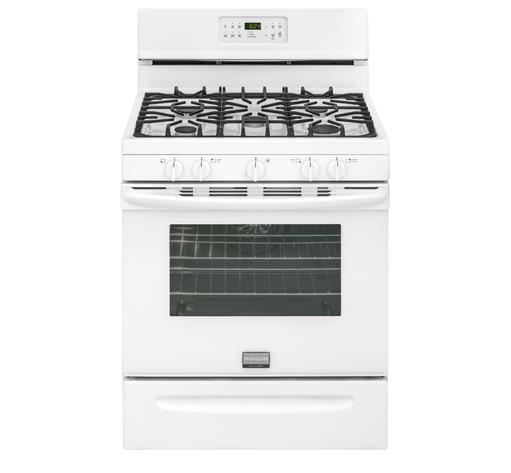 "Frigidaire Frigidaire Gallery Gas Ranges 30"" Freestanding Gas Range - Item Number: FGGF3035RW"