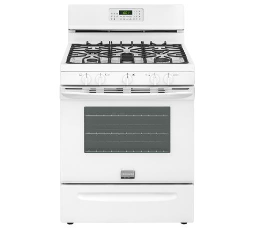 "Frigidaire Frigidaire Gallery Gas Ranges Gallery 30"" Freestanding Gas Range - Item Number: FGGF3058RW"