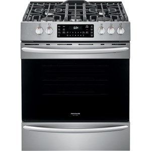 "30"" Front Control Gas Range with Air Fry"