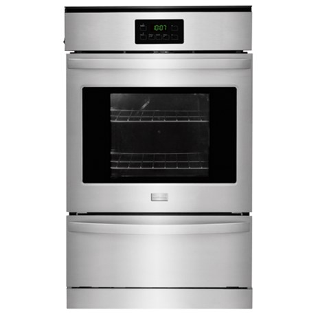 "Frigidaire Gas Wall Ovens 24"" Single Gas Wall Oven - Item Number: FFGW2415QS"