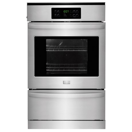"Frigidaire Gas Wall Ovens 24"" Single Gas Wall Oven - Item Number: FFGW2425QS"