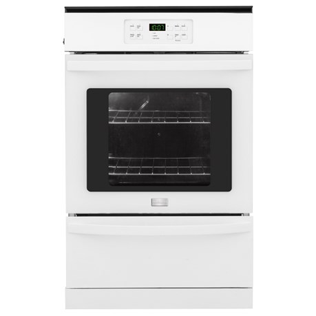 "Frigidaire Gas Wall Ovens 24"" Single Gas Wall Oven - Item Number: FFGW2425QW"