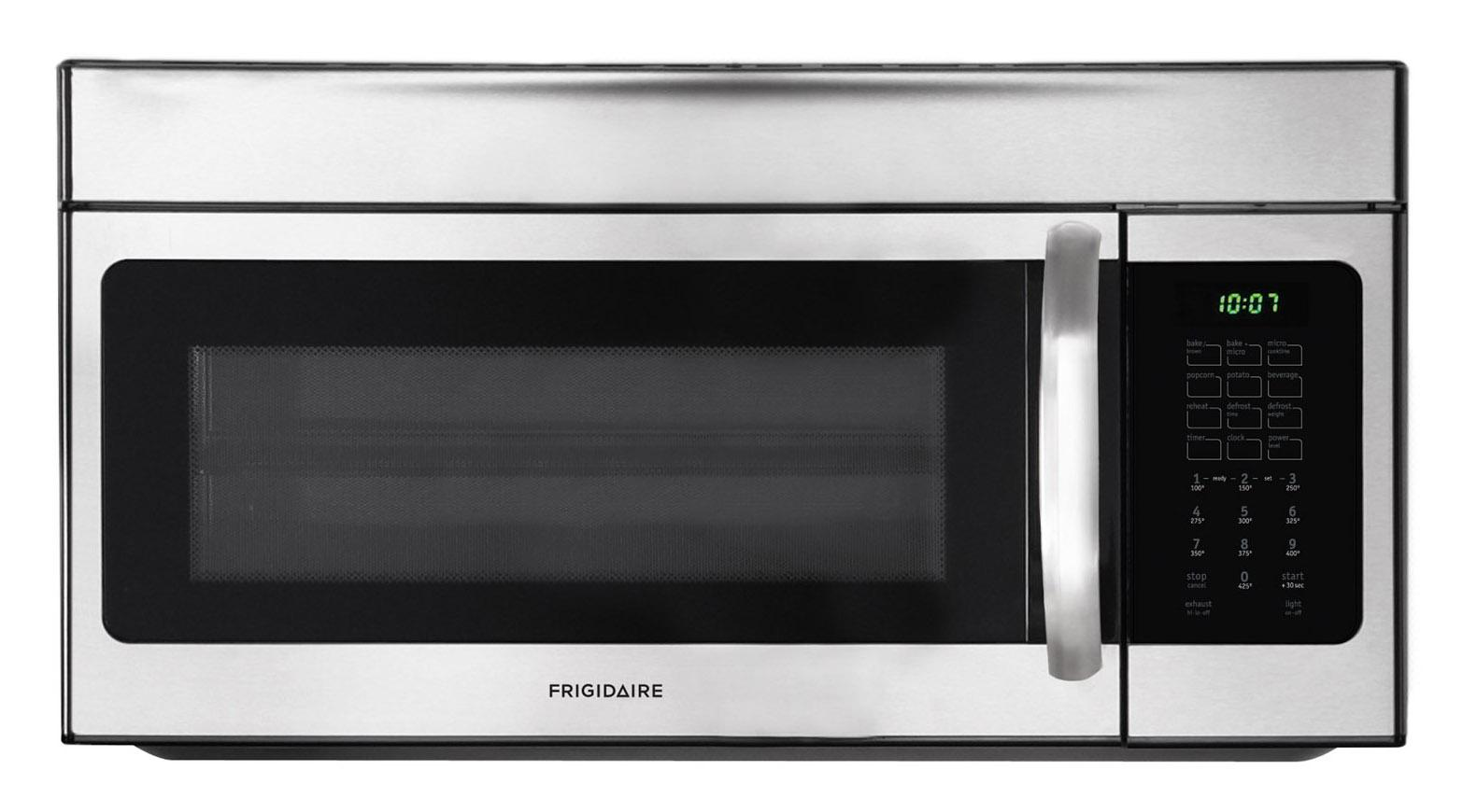 Frigidaire Microwaves 1.5 Cu. Ft. Over-The-Range Microwave - Item Number: FFMV154CLS