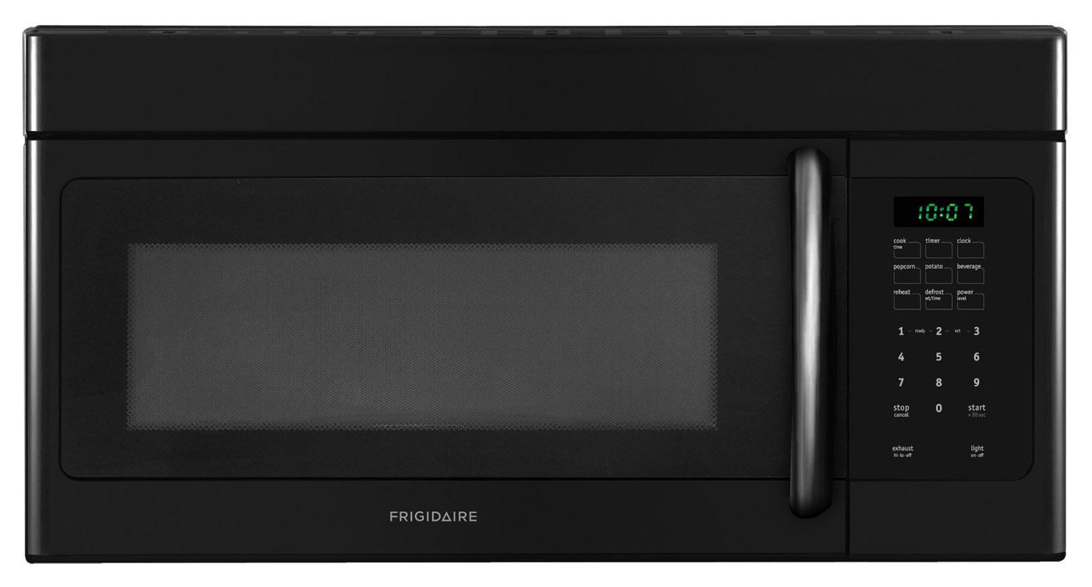 Frigidaire Microwaves 1.6 Cu. Ft. Over-The-Range Microwave - Item Number: FFMV162LB