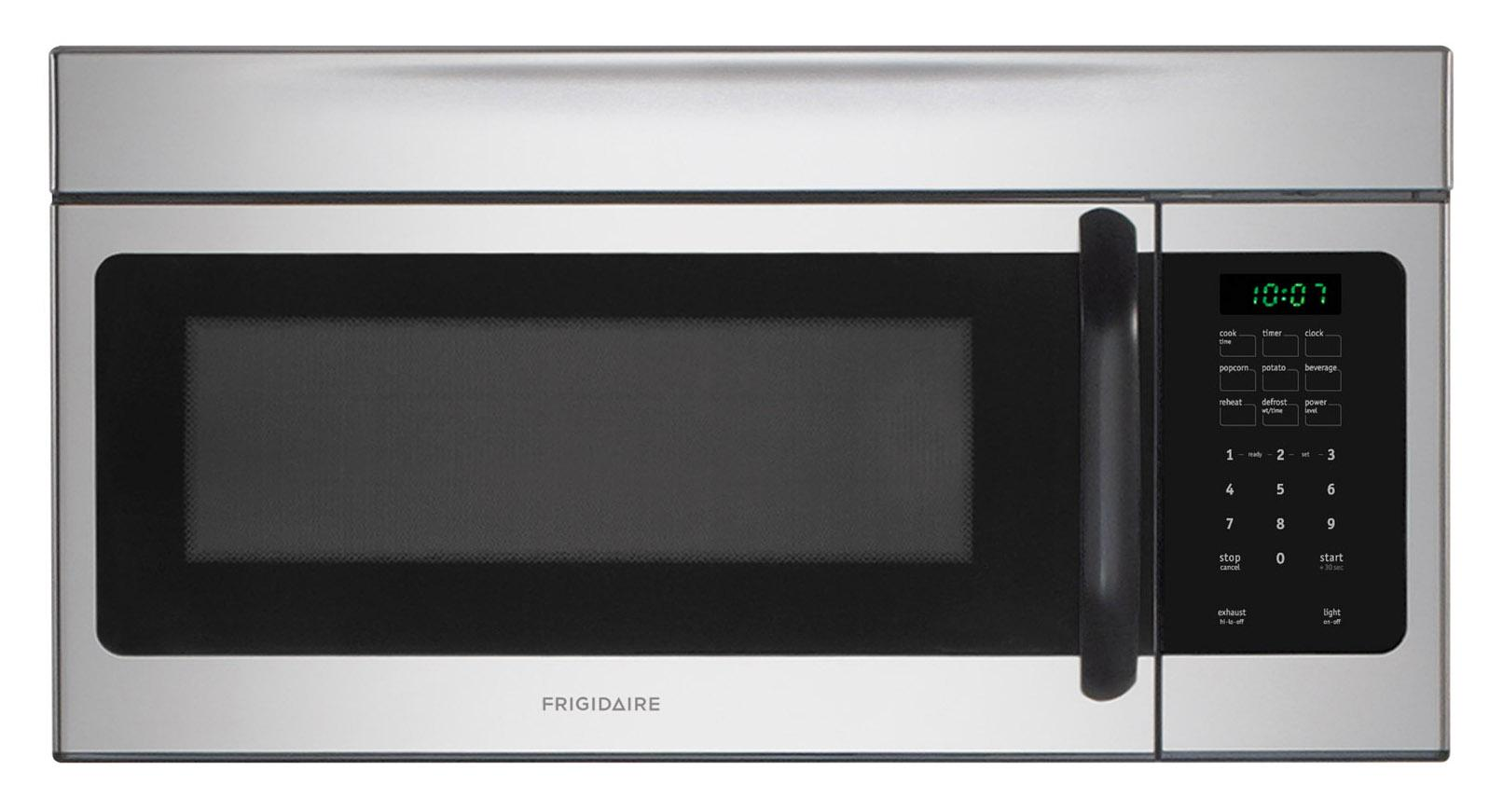 Frigidaire Microwaves 1.6 Cu. Ft. Over-The-Range Microwave - Item Number: FFMV162LS