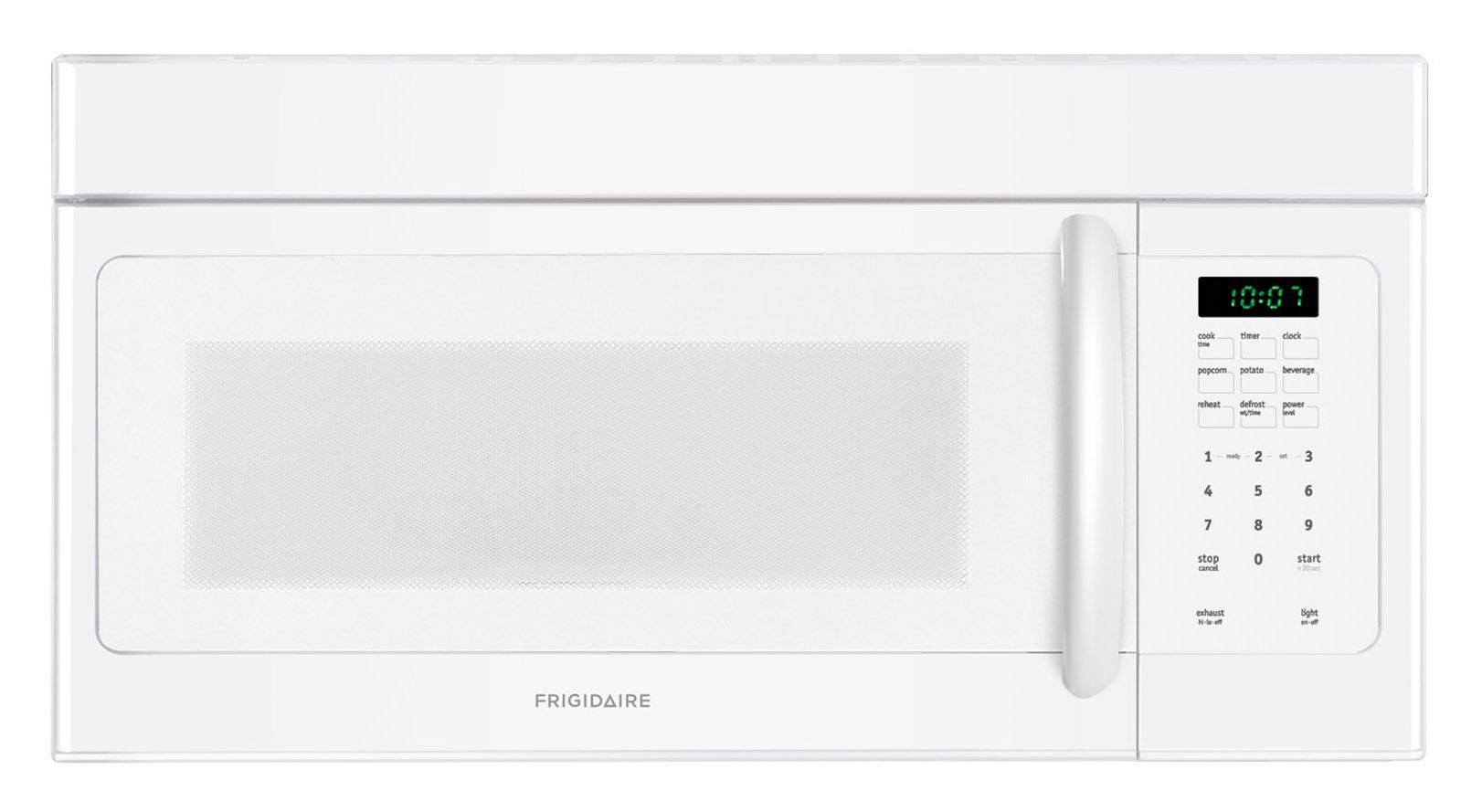 Frigidaire Microwaves 1.6 Cu. Ft. Over-The-Range Microwave - Item Number: FFMV162LW