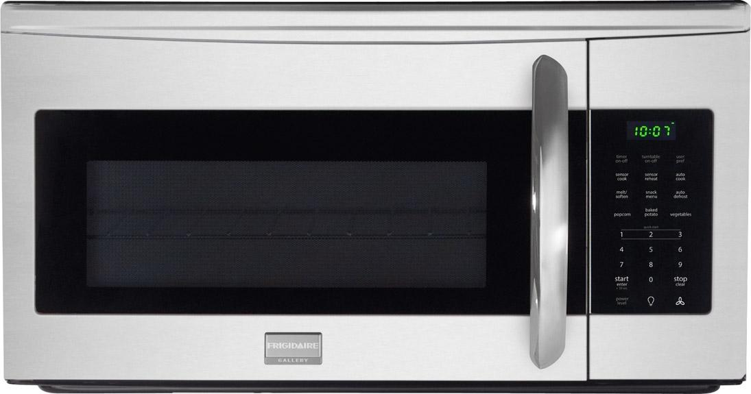Frigidaire Microwaves Gallery 1.7 Cu. Ft. Over-The-Range Microwave - Item Number: FGMV175QF