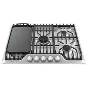 "30"" Frigidaire Professional Gas Cooktop"