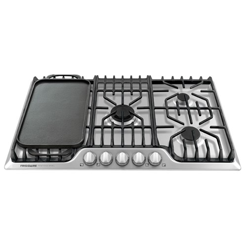 "Frigidaire Professional Collection - Cooktops 36"" Frigidiare Professional Gas Cooktop - Item Number: FPGC3677RS"